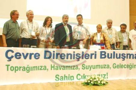 Çevre Direnişçileri Ankara'da Buluştu