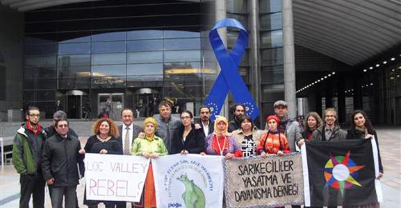 Anadolu Nehirleri Brüksel'e Aktı